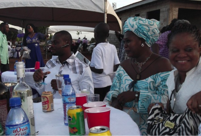 Alzheimer`s Ghana joined Mrs Adih, President of the Board in Celebrating her Mum`s 80th Birthday