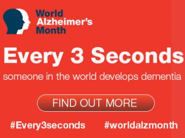September is World Alzheimer's Month!