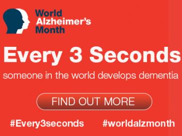 September is World Alzheimer's Month!